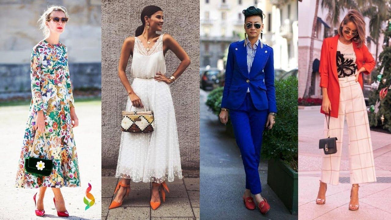 Европейский Стиль Одежды Женщин Фото как Одеваются Девушки в Разных Странах? Уличная Мода 2019