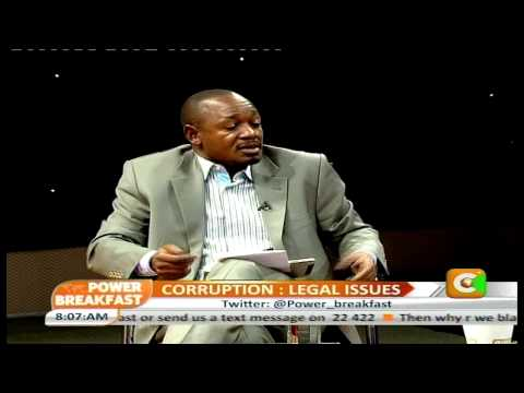 Power Breakfast Interview: Legal Issues on Tackling Corruption Report