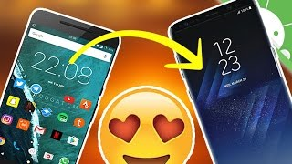 PERSONALIZACION GALAXY S8 en tu Android