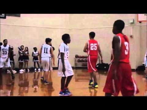 Nicolas Moreno 7th Grade 2015-2016, First Colony Middle School Basketball #11