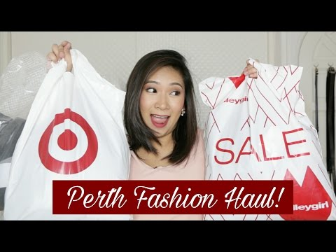 Perth Fashion Haul! (TEMT, Valleygirl, Cotton On, Target, Kmart)   dygans90