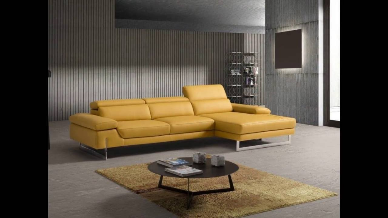 Contemporary Italian Leather Sofas - YouTube