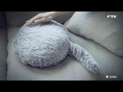 로보캣? 애묘인들을 위한 궁극의 쿠션