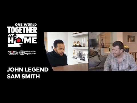 "John Legend & Sam Smith Perform ""Stand By Me"" 
