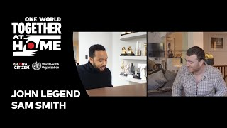 """John Legend & Sam Smith perform """"Stand By Me"""" 