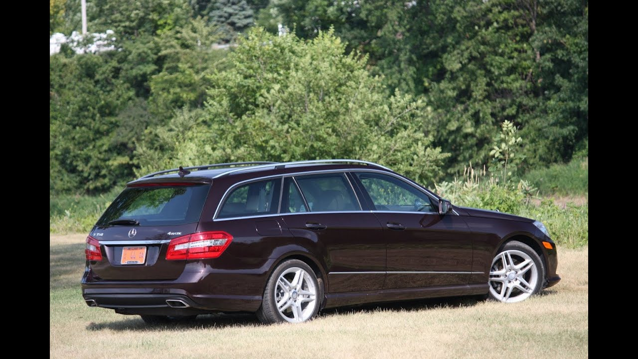 2011 Mercedes Benz E350 4Matic Wagon Review   YouTube