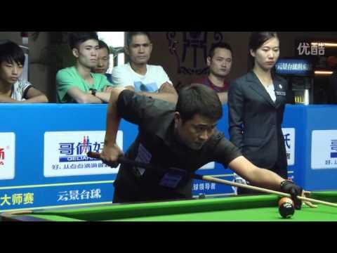 Chang Yu-Lung VS Liang Shiyu - Chinese 8 Ball Masters Tour 2015-2016 Stop 3 Fuqing