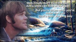 Glen Campbell +  Rhinestone Cowboy + Lyrics/HQ