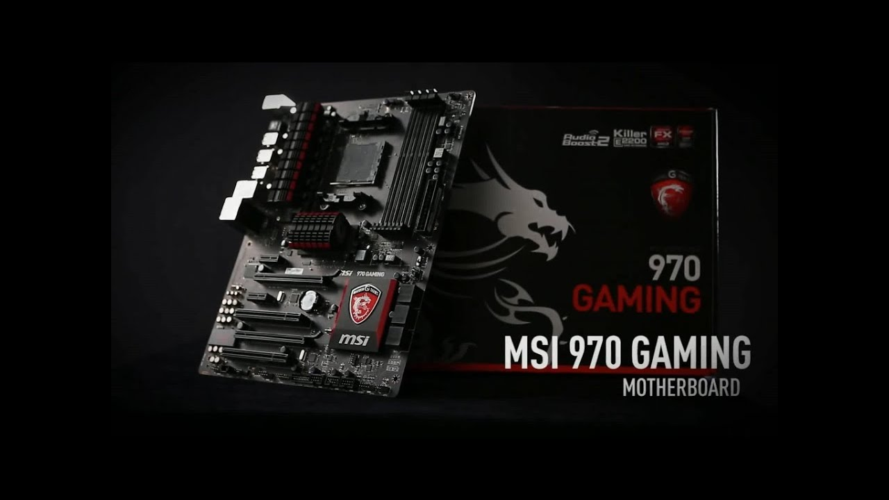 Unboxing MSI 970 GAMING Motherboard