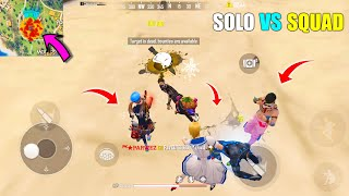 Beautiful Game Of Free Fire Play Solo vs Squad Like a Pro Player | Garena Free Fire King Of Factory