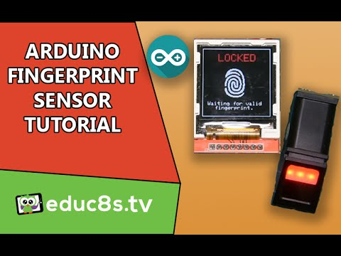 Arduino Tutorial Use A Fingerprint Sensor Module To Add