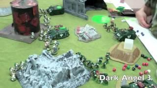 BoLS Battle Report #143 Heresy Death Guard vs Dark Angels | Warhammer 30,000