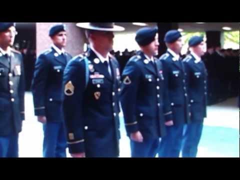 Ft. Benning Infantry, Turning Blue Ceremony Charlie Co 2-19