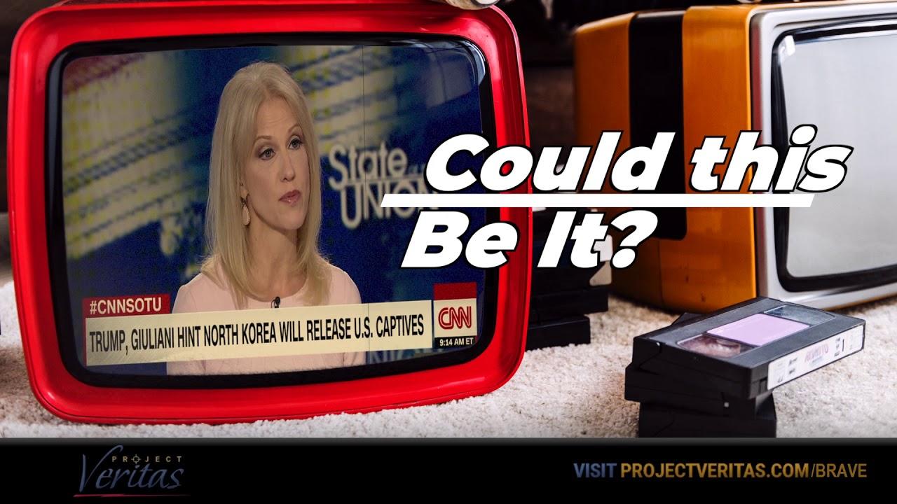 Project Veritas CNN Media Coordinator states 'Zucker insists Tapper press Kellyanne Conway, &qu