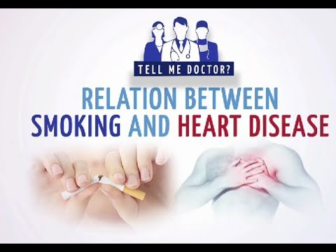 Relation Between Smoking and Heart Disease - Dr. Balram Airan - Tell Me Doctor