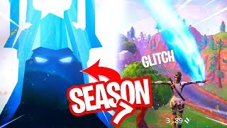 FORTNITE NIEUWS! SEASON 7 TEASER & SUPPORT-A-CREATOR INFORMATIE & GLITCHES!