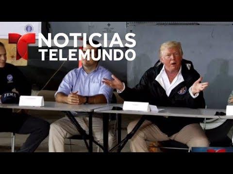 Comentarios de Donald Trump causan revuelo en Puerto Rico | Noticiero | Noticias Telemundo