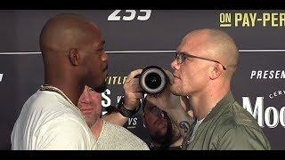 UFC 235 Face Offs Jon Jones vs Anthony Smith, Tyron Woodley vs Kamaru Usman