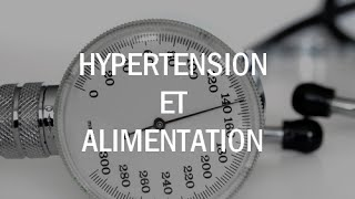 Hypertension et alimentation & objectif arrêt médication