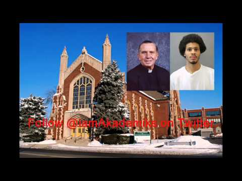 Chiraq Savages Rob Church and Beat Priest With Holy Water Sprinkler.