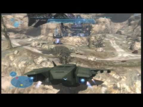 How To Fly A Pelican In Halo Reach