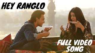 """Presenting you the navratri anthem """"chogada tara"""" from love story revealed out salman khan's box loveratri. this is remake of very popular hey rangl..."""