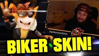 ROO'S TUBES 3 TIMES?! | CTR: Nitro-Fueled | Biker Crash Skin Gameplay