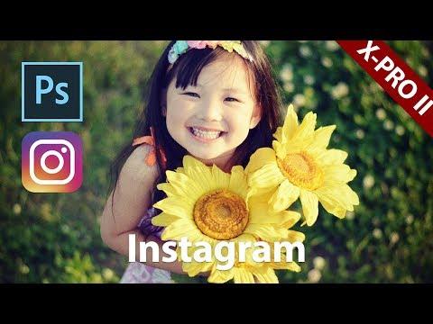 【Photoshop講座】写真を加工する!インスタク? ラム X PRO II 風 Instagram X PRO II