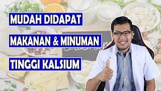Fungsi Kalsium Untuk Kesehatan Ini Makanan dan Minuman Yang Tinggi Kalsium