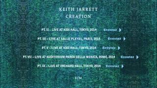 Keith Jarrett - Creation - Medley