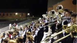 DS Freeman HS Band  Homecoming 2012 - Hey Baby from the stands