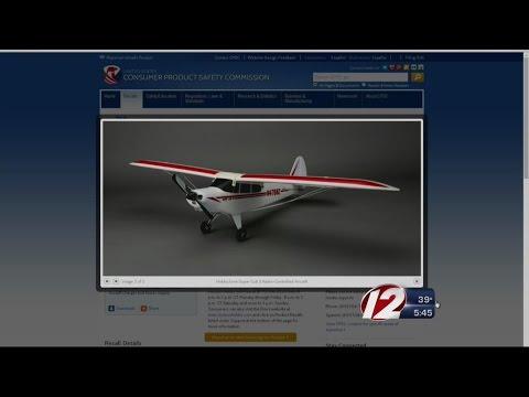 Radio control aircraft, bicycles on recall list