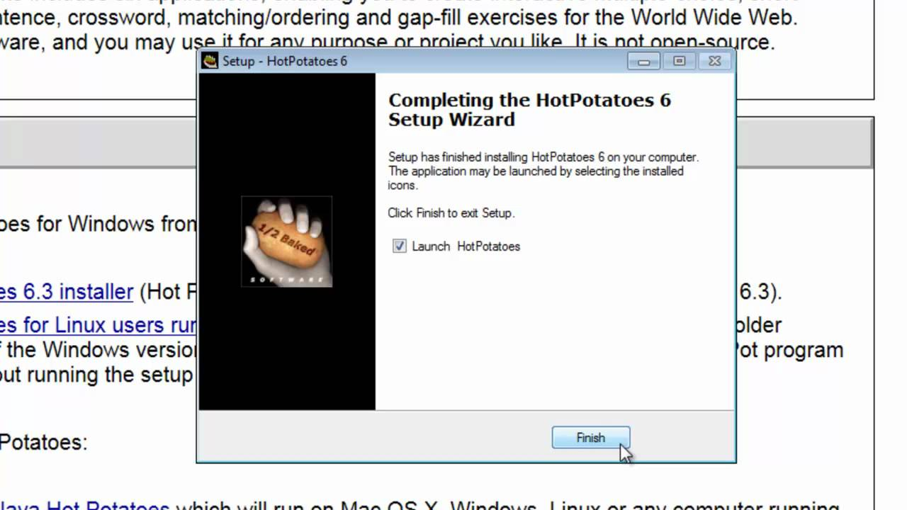Hot potatoes 6. 3. 0. 5 download for pc free.
