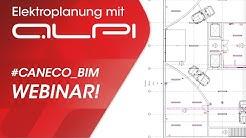 WEBINAR Elektroplanung: 3 #Caneco_BIM - Revit als Basis für eine automatisierte Elektroplanung