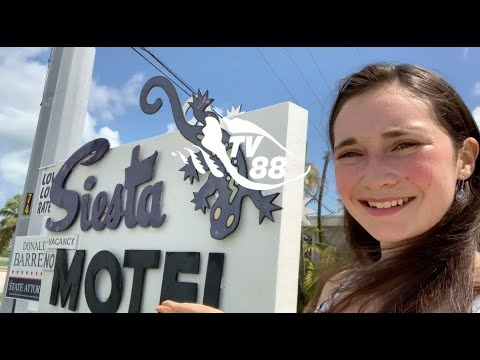 TV88 Touring The Keys At Siesta Motel In Marathon, Florida
