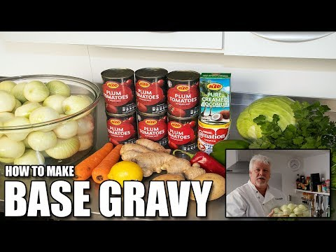 How to make the Curry Shed Base Gravy – BIR British Indian Restaurant Style