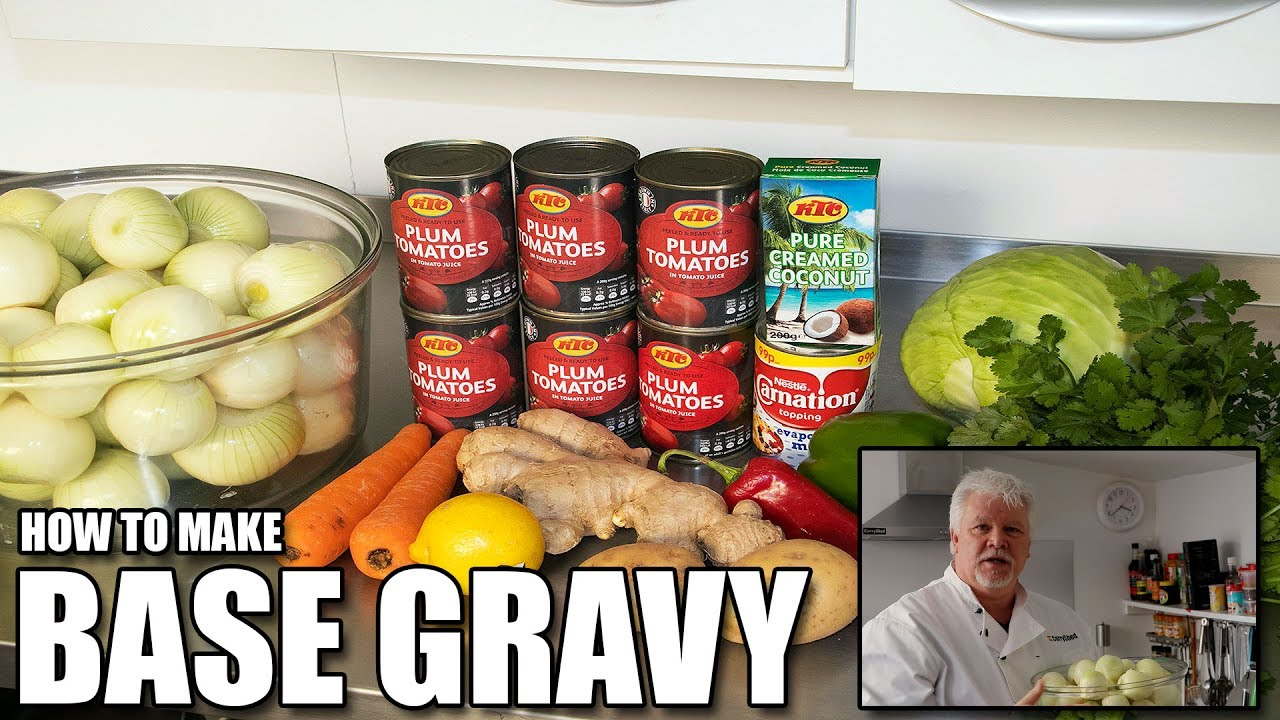 How To Make The Curry Shed Base Gravy Bir British Indian Restaurant Style