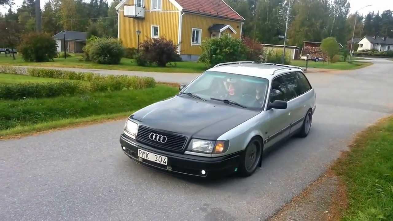 Slammed Audi 100 Youtube
