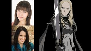 Anime Voice Comparison- Miria (Claymore)
