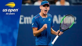 Late Night at the US Open: Alex De Minaur Earns the Respect of the Louis Armstrong Faithful