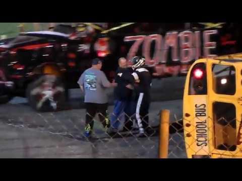 School Bus Figure 8 Race 8/18/18 Sportsdrome Speedway, Clarksville, IN