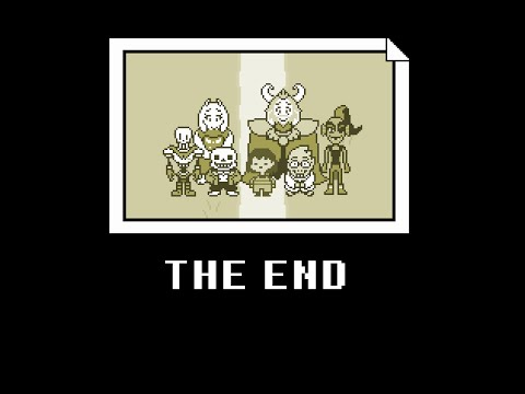 HAPPY ENDING!: UNDERTALE: (Pacifist) True Finale