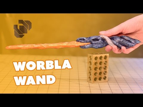 How to Make a Harry Potter Style Wand out of Worbla