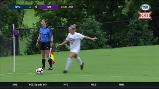 West Virginia vs TCU Soccer Highlights