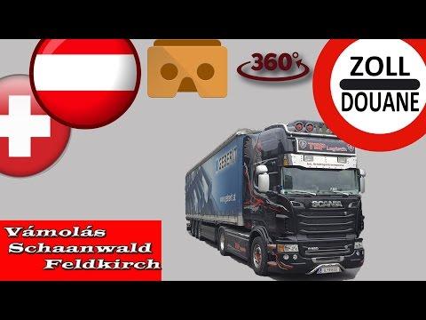 151. Kamionsofőr betanítás.360 fokban. Svájci vámolás. #1 TISIS