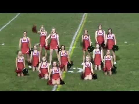 Lincoln Community High School Railettes-Fri. 09-23-16