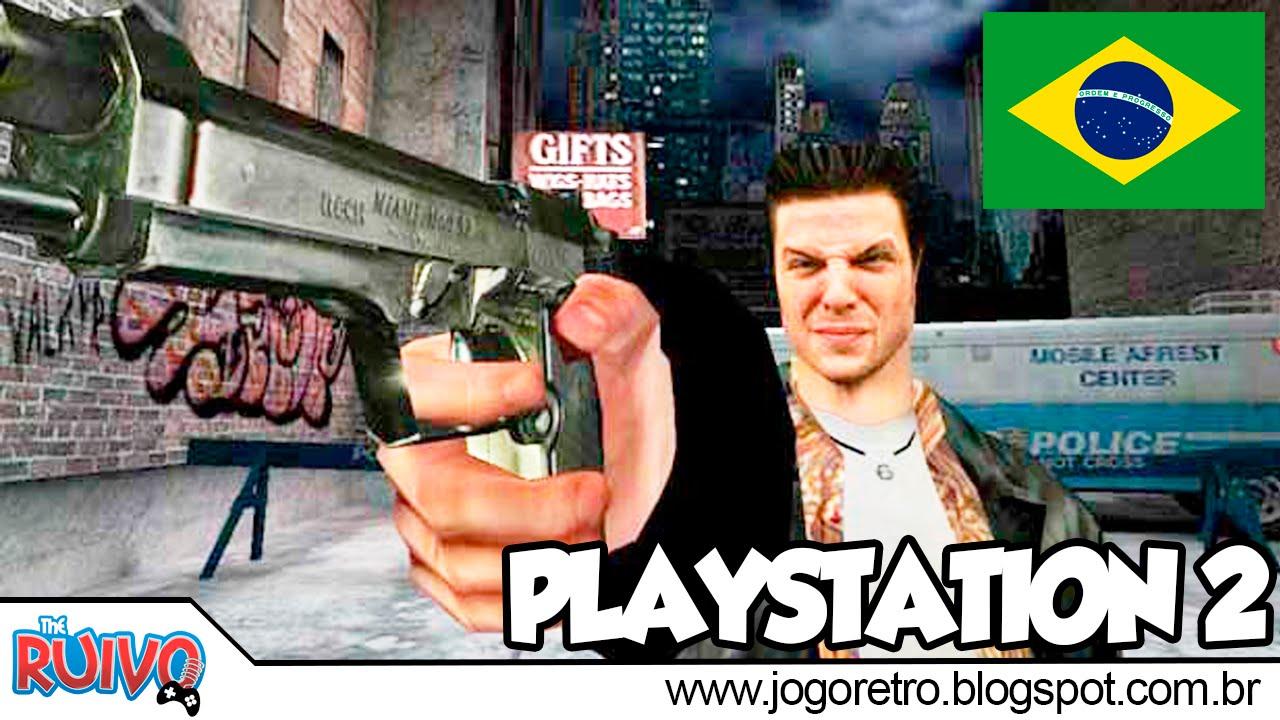 Max Payne 1 Dublado Em Portugues No Playstation 2 Youtube