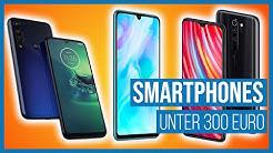 Die besten Smartphones unter 300 Euro!