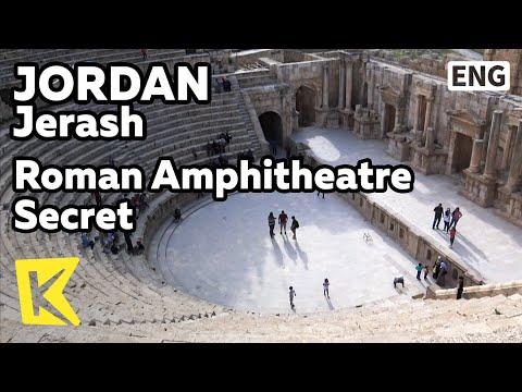 【K】Jordan Travel-Jerash[요르단 여행-제라시]로마 원형극장의 비밀/Roman Amphitheatre/Historic site