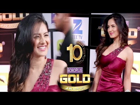 Pooja Bose At 10th Zee Gold Awards 2017 | Interview
